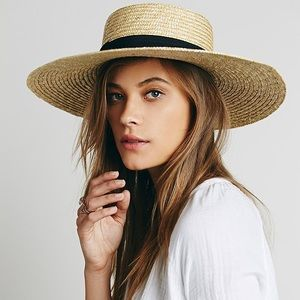 Brand New Lack of color Straw Hat